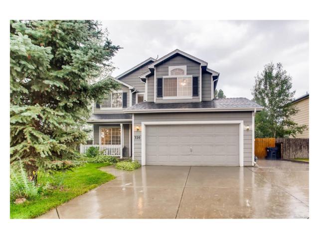320 Rushmore Street, Elizabeth, CO 80107 (MLS #5104510) :: 8z Real Estate