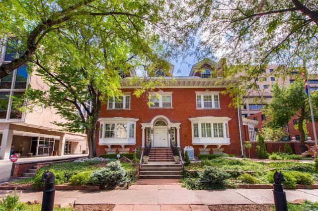 1350 N Logan Street, Denver, CO 80203 (#5105355) :: Bring Home Denver