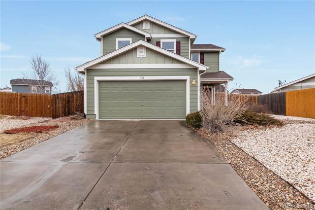 816 Ponderosa Lane, Lochbuie, CO 80603 (MLS #5108598) :: 8z Real Estate