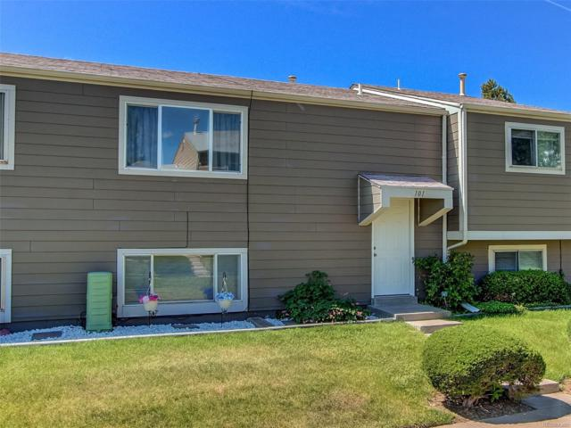 5731 W 92nd Avenue #101, Westminster, CO 80031 (#5109536) :: The Peak Properties Group