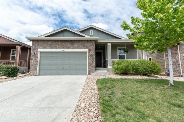 4849 S Coors Court, Morrison, CO 80465 (#5111154) :: The Heyl Group at Keller Williams