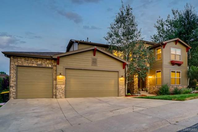 1644 Ridgetrail Lane, Castle Rock, CO 80104 (#5113314) :: The Margolis Team
