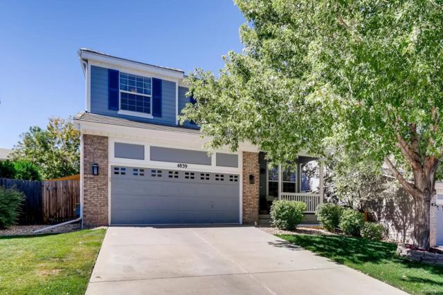 4839 S Kirk Way, Aurora, CO 80015 (#5114142) :: The Peak Properties Group