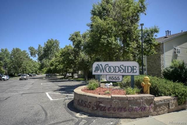 8555 Fairmount Drive #203, Denver, CO 80247 (#5118434) :: Mile High Luxury Real Estate