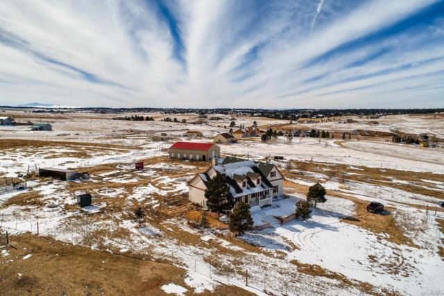 6690 Sunset Circle, Kiowa, CO 80117 (#5119280) :: The Peak Properties Group