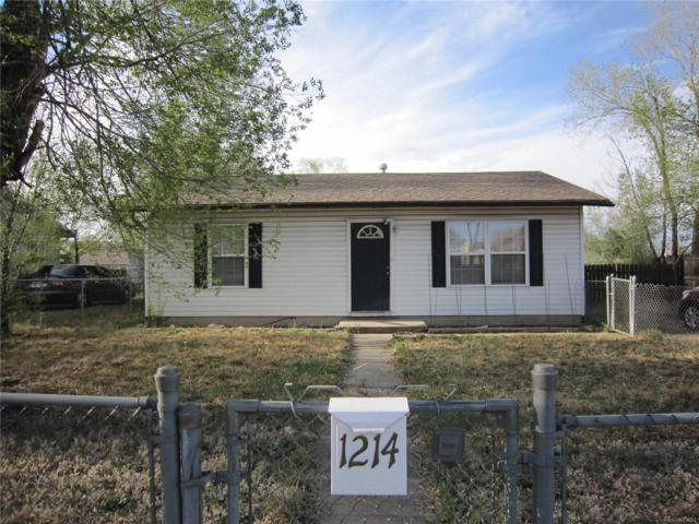 1214 Harrison Road, Colorado Springs, CO 80905 (#5120459) :: Bring Home Denver