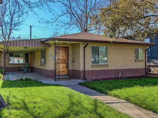 4159 Perry Street, Denver, CO 80212 (#5120706) :: milehimodern