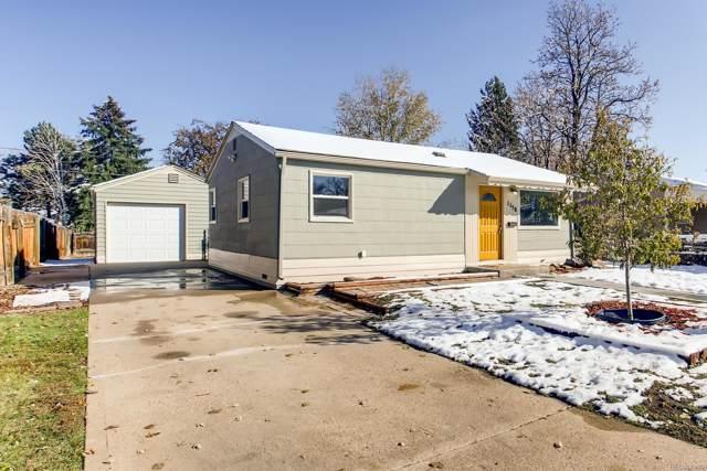 1158 S Knox Court, Denver, CO 80219 (#5122927) :: The HomeSmiths Team - Keller Williams