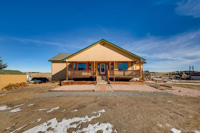 5517 County Road 124, Elizabeth, CO 80107 (#5123837) :: Chateaux Realty Group