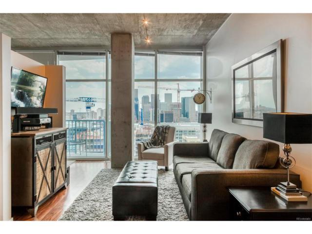 1700 Bassett Street #1920, Denver, CO 80202 (MLS #5125165) :: 8z Real Estate