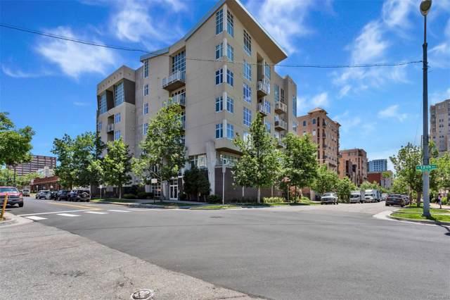 290 W 12th Avenue #403, Denver, CO 80204 (#5126584) :: Colorado Home Finder Realty