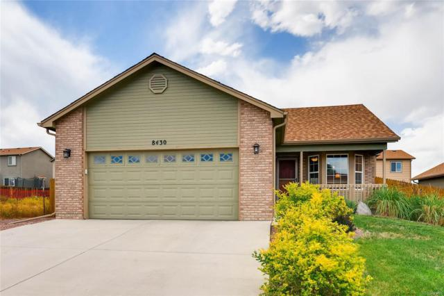 8430 Sedgewick Drive, Colorado Springs, CO 80925 (#5128322) :: The DeGrood Team