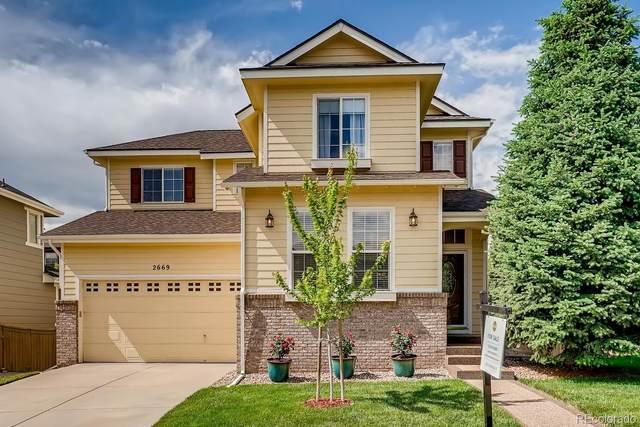 2669 Westgate Avenue, Highlands Ranch, CO 80126 (#5138471) :: The HomeSmiths Team - Keller Williams