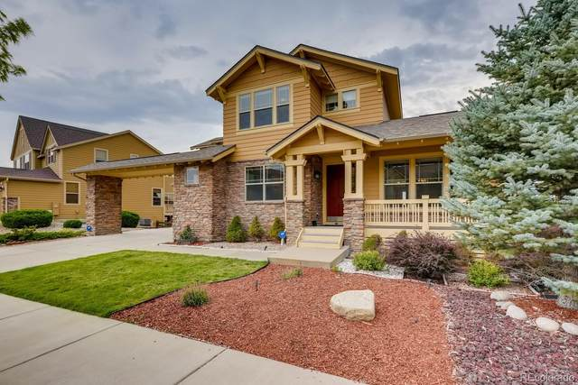 22352 E Idyllwilde Drive, Parker, CO 80138 (#5138997) :: The DeGrood Team