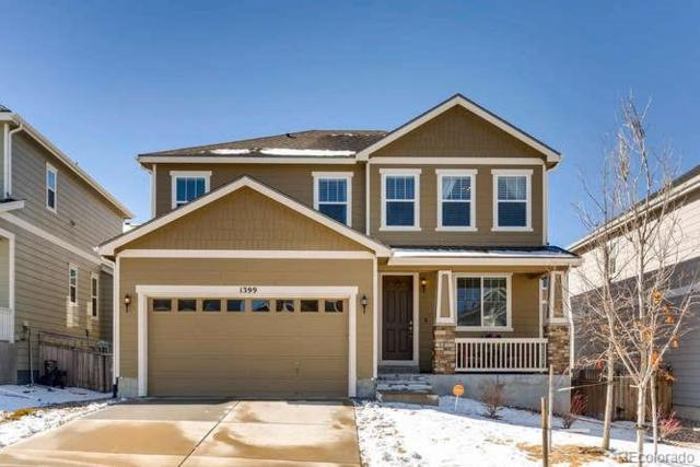 1399 Morningview Lane, Castle Rock, CO 80109 (#5139463) :: The City and Mountains Group