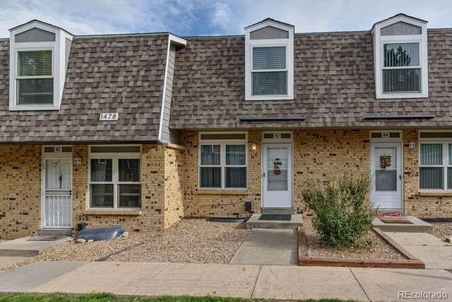 1478 S Pierson Street #83, Lakewood, CO 80232 (#5140417) :: Peak Properties Group
