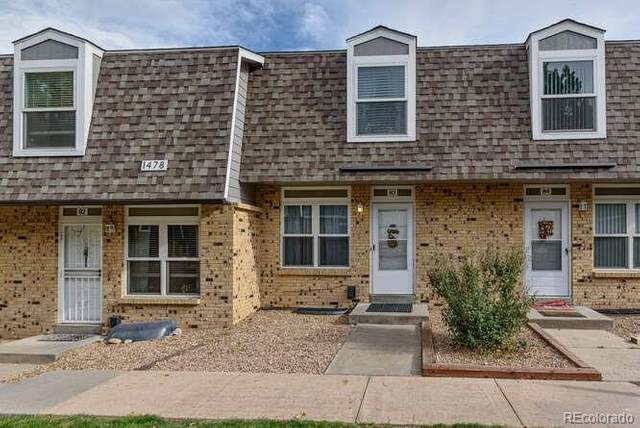 1478 S Pierson Street #83, Lakewood, CO 80232 (MLS #5140417) :: The Sam Biller Home Team