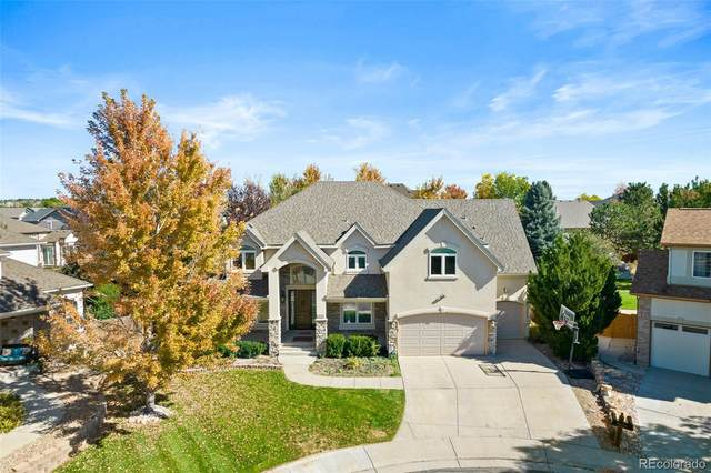 14881 E Maplewood Place, Centennial, CO 80016 (#5143120) :: The DeGrood Team