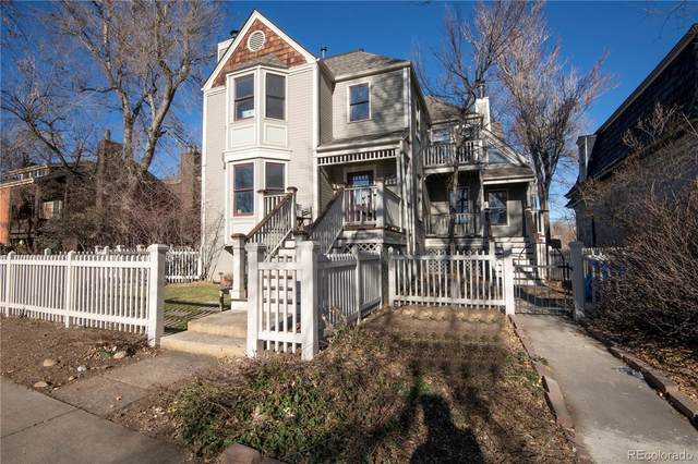 2135 Spruce Street #6, Boulder, CO 80302 (#5148916) :: Venterra Real Estate LLC