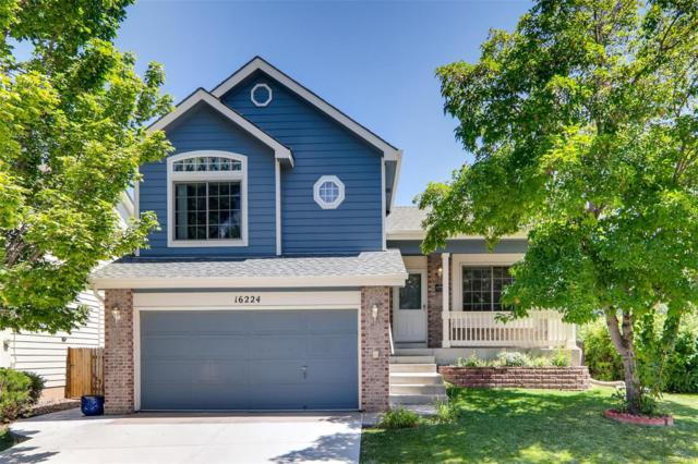 16224 Peregrine Drive, Parker, CO 80134 (#5154063) :: The HomeSmiths Team - Keller Williams