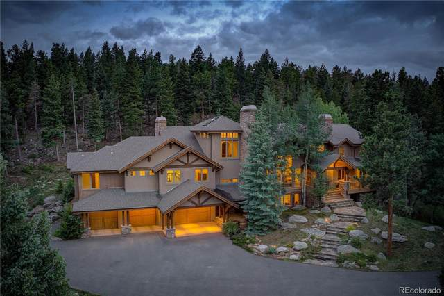 33442 Meadow Mountain Road, Evergreen, CO 80439 (#5157510) :: The Gilbert Group