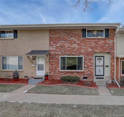 9055 E Nassau Avenue #373, Denver, CO 80237 (#5162814) :: The Dixon Group
