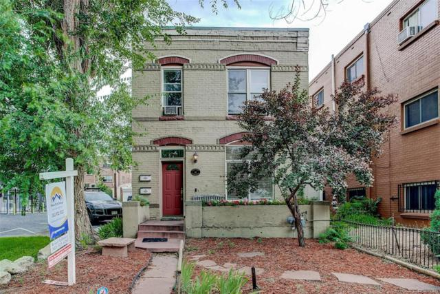 14 S Logan Street B, Denver, CO 80209 (#5163246) :: The Pete Cook Home Group