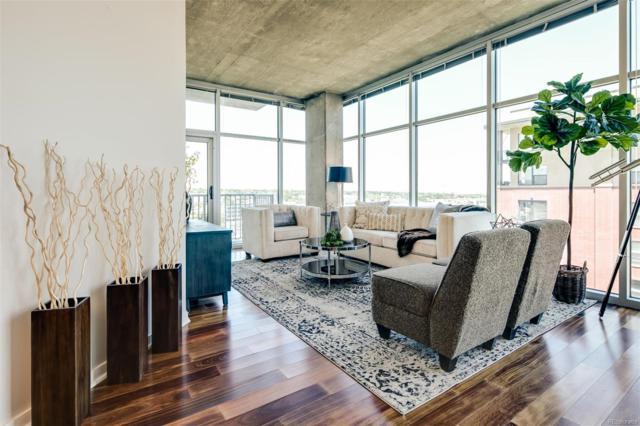 1700 Bassett Street #1013, Denver, CO 80202 (#5164841) :: HomeSmart Realty Group