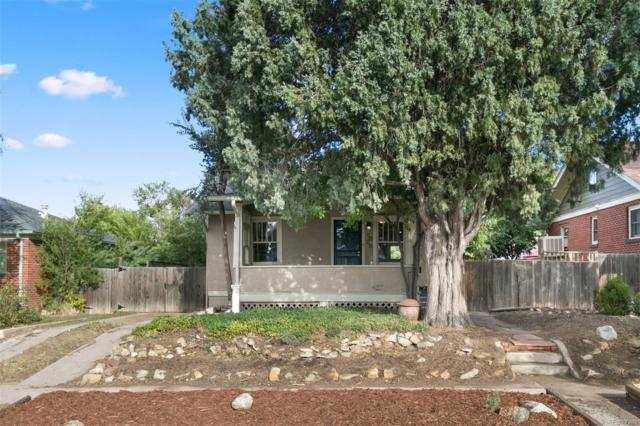 1626 Ulster Street, Denver, CO 80220 (#5165491) :: House Hunters Colorado