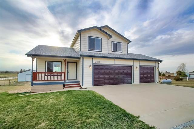 41839 Thunder Hill Road, Parker, CO 80138 (MLS #5166978) :: 8z Real Estate