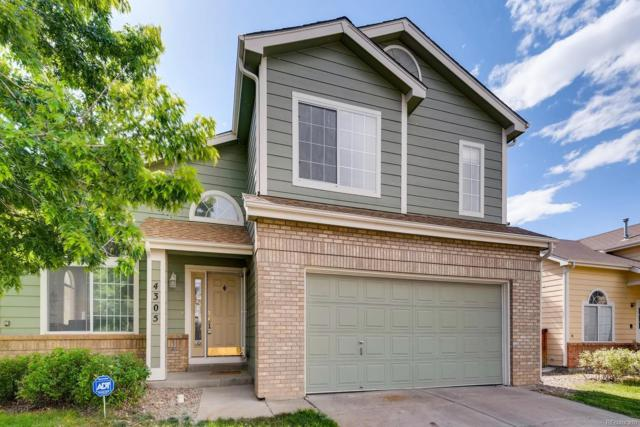 4305 Dunkirk Way, Denver, CO 80249 (#5170331) :: The DeGrood Team