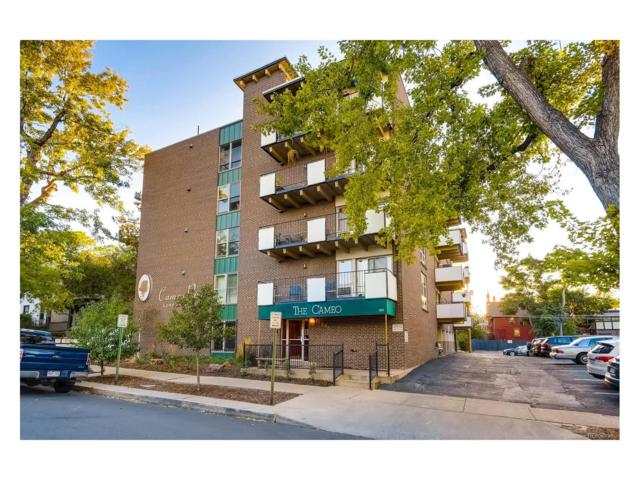 1265 Elizabeth Street #306, Denver, CO 80206 (MLS #5173673) :: 8z Real Estate