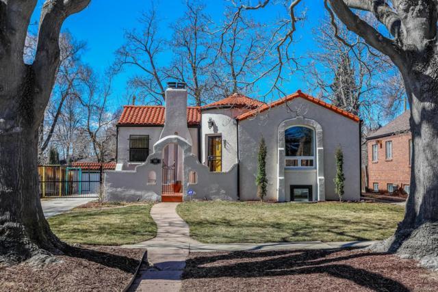 1565 Hudson Street, Denver, CO 80220 (#5180333) :: The Peak Properties Group
