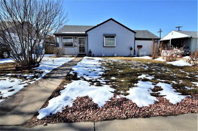 985 Nome Street, Aurora, CO 80010 (MLS #5183697) :: Bliss Realty Group