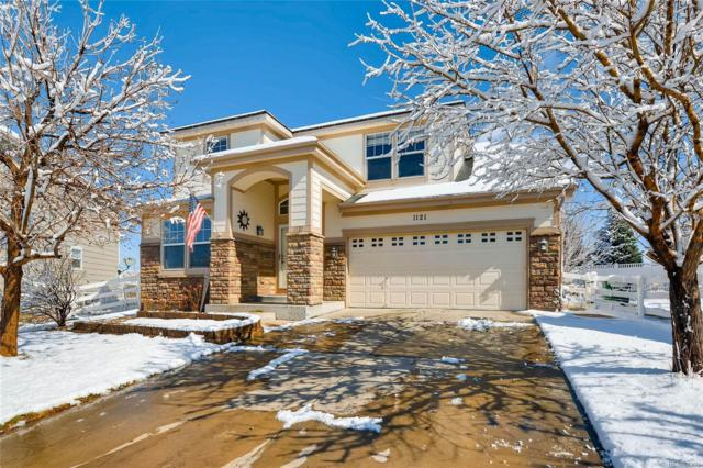 1121 S Coolidge Circle, Aurora, CO 80018 (#5185575) :: The Peak Properties Group
