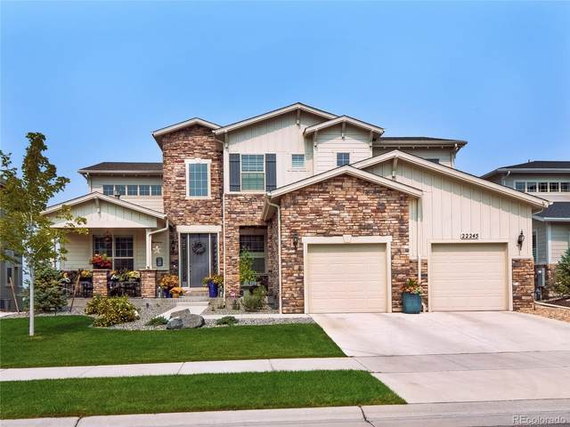 22245 Boundstone Drive, Parker, CO 80138 (#5185928) :: The DeGrood Team