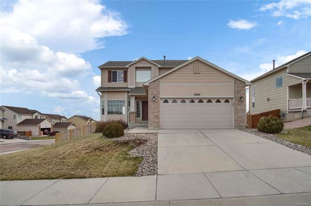 8307 Parkglen Drive, Fountain, CO 80817 (MLS #5188545) :: 8z Real Estate