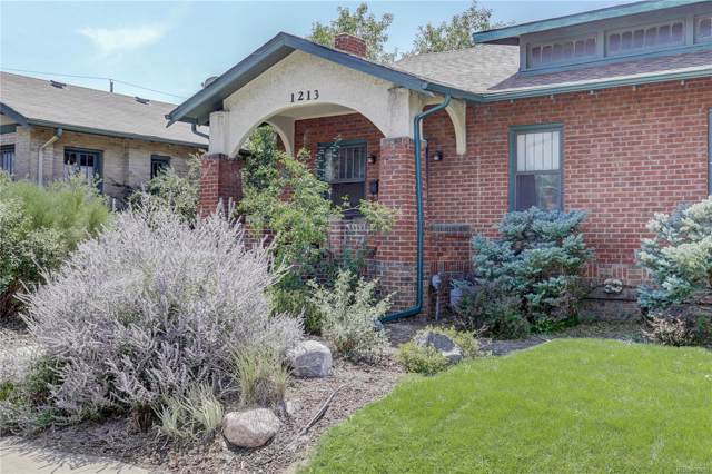1213 Jackson Street, Denver, CO 80206 (#5188936) :: My Home Team