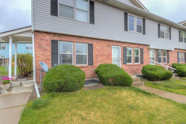 16393 E 17th Place B, Aurora, CO 80011 (#5193896) :: Real Estate Professionals