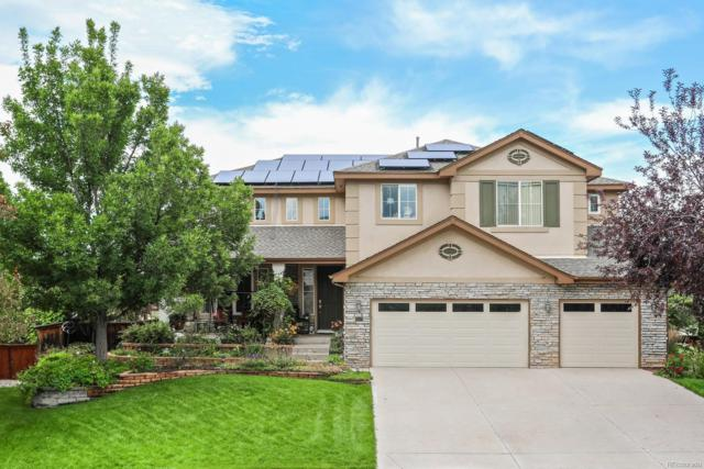 9590 S Flower Way, Littleton, CO 80127 (#5196640) :: The Griffith Home Team