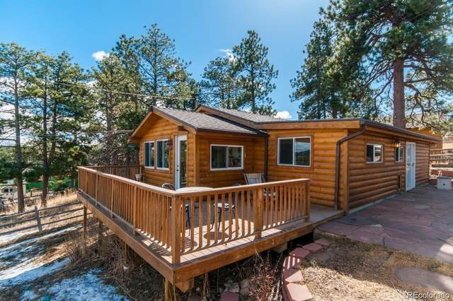 30555 Pine Cone Lane, Evergreen, CO 80439 (#5198725) :: My Home Team