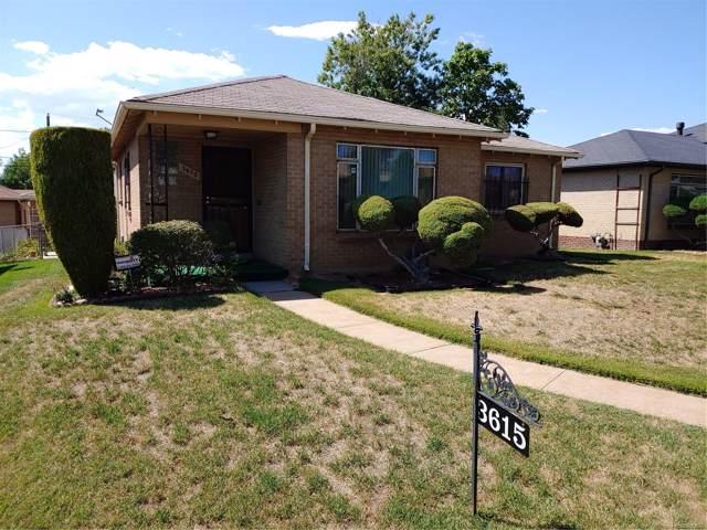 3615 N Ivanhoe Street, Denver, CO 80207 (#5202771) :: The HomeSmiths Team - Keller Williams