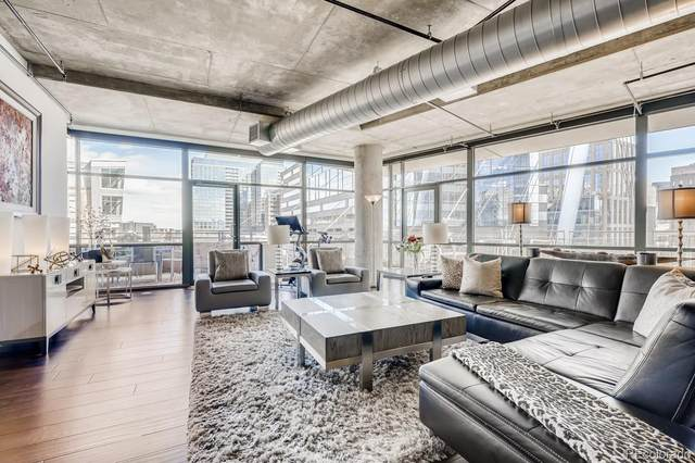2100 16th Street #509, Denver, CO 80202 (#5206951) :: The Dixon Group