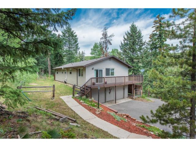 6763 Snowshoe Trail, Evergreen, CO 80439 (MLS #5207337) :: 8z Real Estate