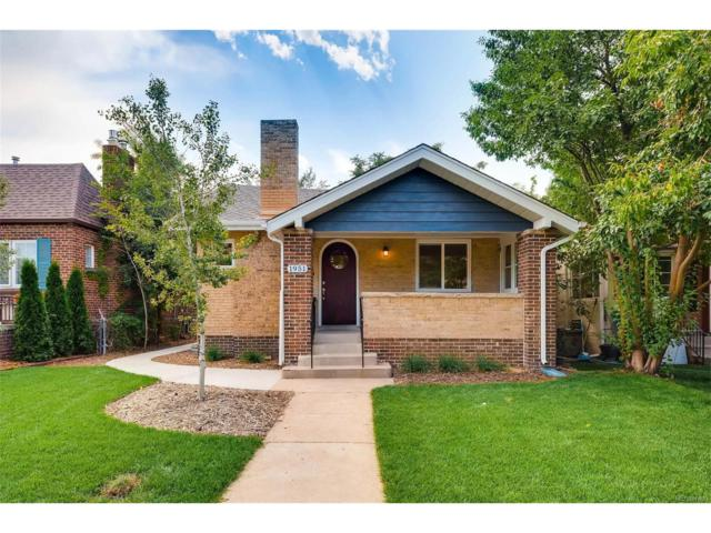1951 S Sherman Street, Denver, CO 80210 (MLS #5207909) :: 8z Real Estate