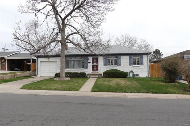 1120 S Fenton Street, Lakewood, CO 80232 (#5209672) :: The Peak Properties Group