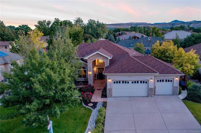 15028 W 54th Drive, Golden, CO 80403 (#5211096) :: The Peak Properties Group