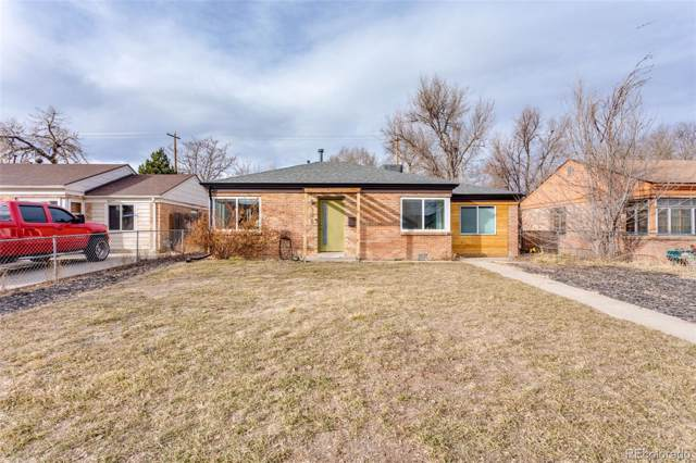 3625 Krameria Street, Denver, CO 80207 (MLS #5220519) :: Kittle Real Estate