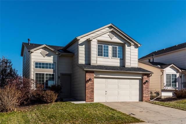 10422 Hyacinth Street, Highlands Ranch, CO 80129 (MLS #5220906) :: 8z Real Estate
