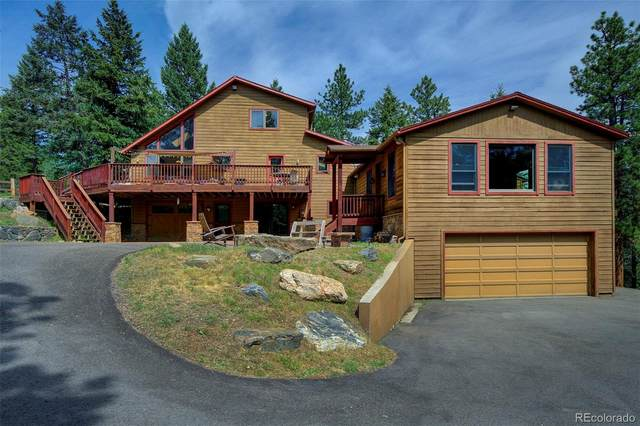 27193 Mesa Drive, Evergreen, CO 80439 (#5221272) :: The DeGrood Team